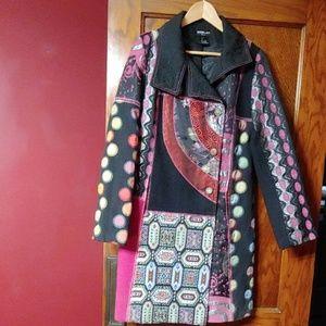 Neslay Paris retro dress coat